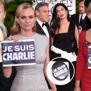 Celebrities-support-Je-Suis-Charlie-at-Golden-Globes-2015