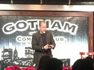 Work Hard. Laugh Hard. A couple of years ago the RoseComm team went out to celebrate the holiday season at Gotham Comedy Club.