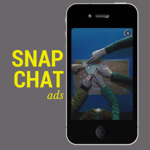 First Snapchat Ad